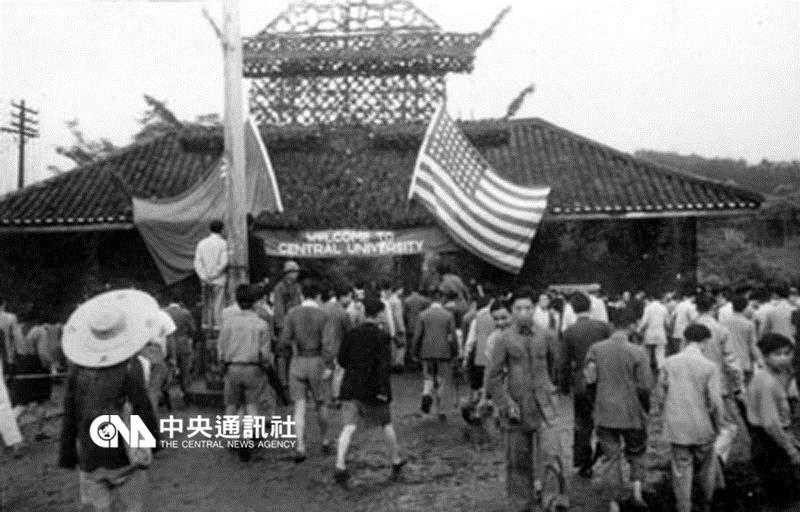 June, 1944 Vice president Wallace visits China